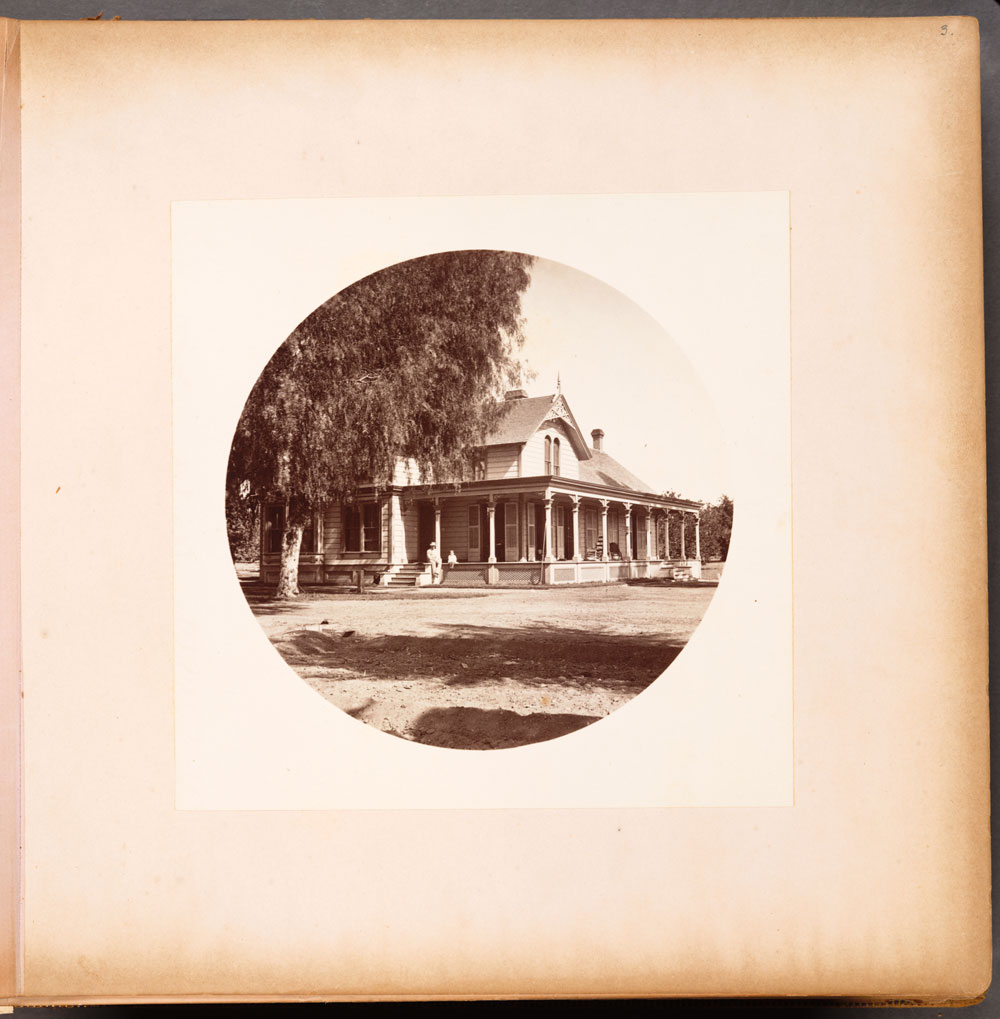 Watkins Unnumbered View - Residence of L.J. Rose, Sunny Slope