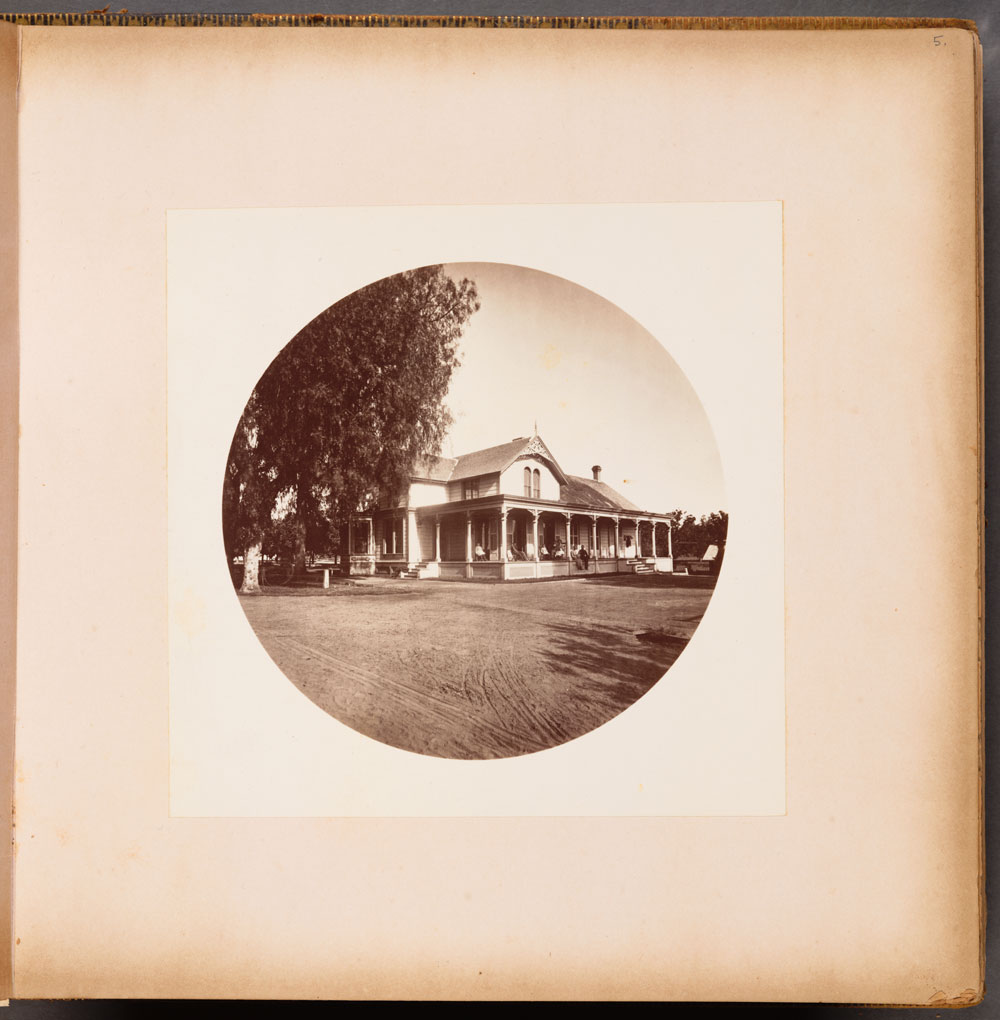 Unnumbered View - Residence of L.J. Rose, Sunny Slope