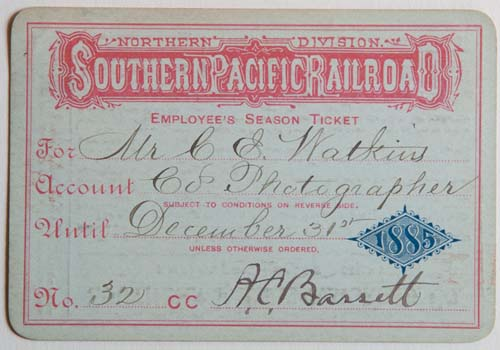 Unnumbered View - Northern Division, Southern Pacific Railroad Pass - 1885