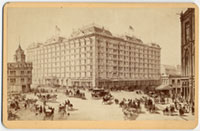 Drawing of Palace Hotel