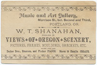 Shanahan Music and Art Gallery, Portland Oregon