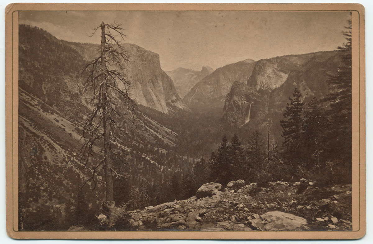 Watkins Unnumbered View - The Yosemite Valley from the Mariposa Trail
