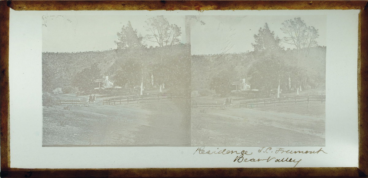 Watkins Unnumbered View - Residence J. C. Fremont, Bear Valley