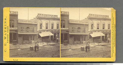 #983 - Effects of the Earthquake, Oct. 21, 1868, Cal. St., North side