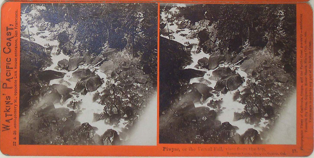 Watkins #17 - Piwyac, or the Vernal Fall, view from the top