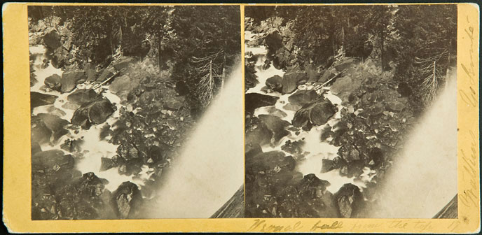 Watkins #17 - Vernal fall from the top