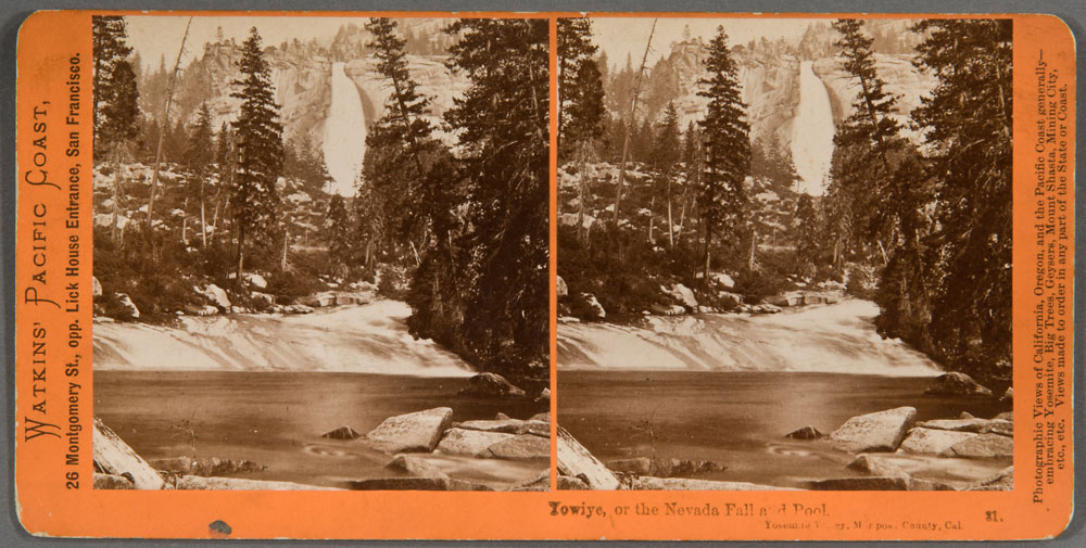 Watkins #31 - Yowiye, or the Nevada Fall and Pool