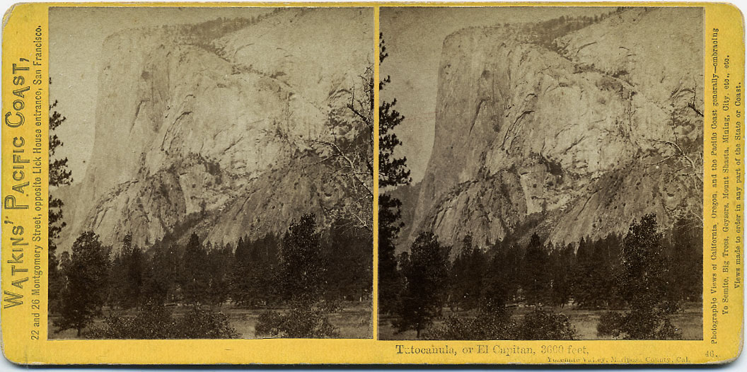 Watkins #46 - Tutocanula, or El Capitan