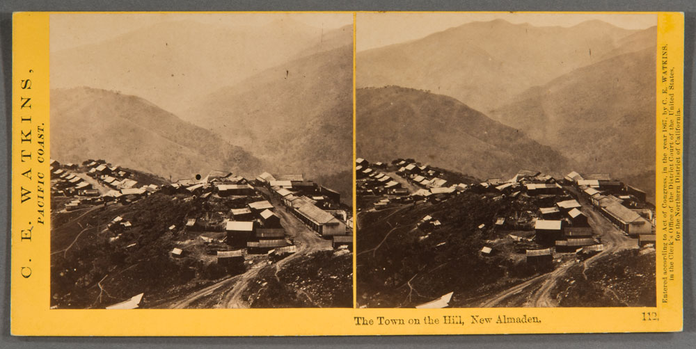 Watkins #112 - The Town on the Hill, New Almaden