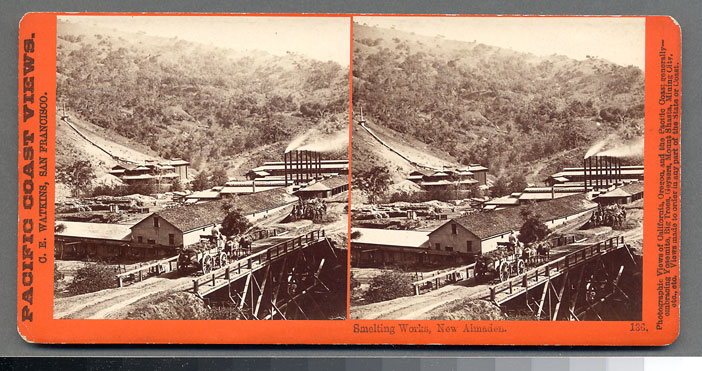 Watkins #136 - Smelting Works, New Almaden