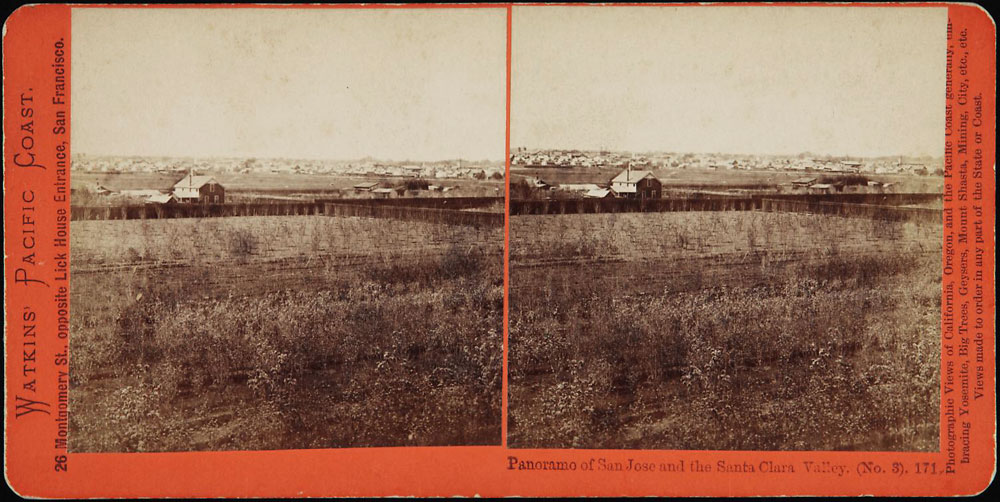Watkins #171 - Panorama of San Jose and the Santa Clara Valley (No.3)