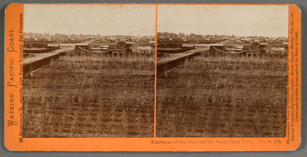 Watkins #173 - Panorama of San Jose and the Santa Clara Valley (No.5)