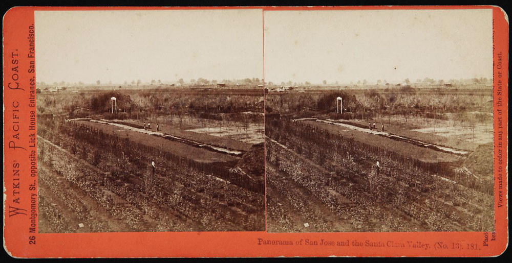 Watkins #181 - Panorama of San Jose and the Santa Clara Valley (No. 13)
