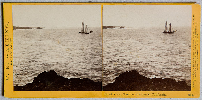 Watkins #240 - Coast View, Mendocino County, California