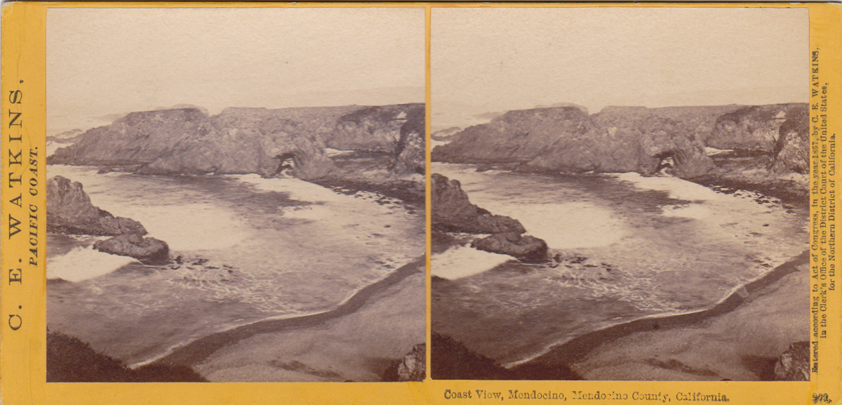 Watkins #269 - Coast View, Mendocino, Mendocino County, California