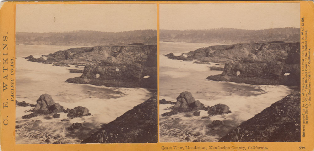 Watkins #272 - Coast View, Mendocino, Mendocino County, California.