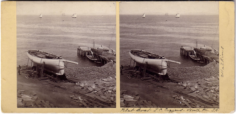Watkins #310 - Pilot Boat - J.C. Cousins - North Point S.F.