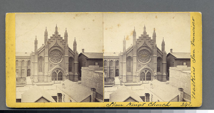 Watkins #342 - Starr King's Church, San Francisco