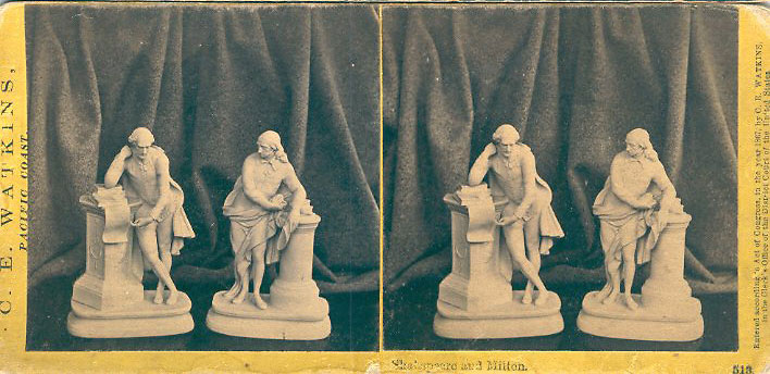 Watkins #513 - Shakespeare and Milton