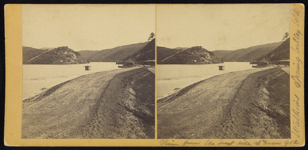 Watkins #912 - View from West side of Dam
