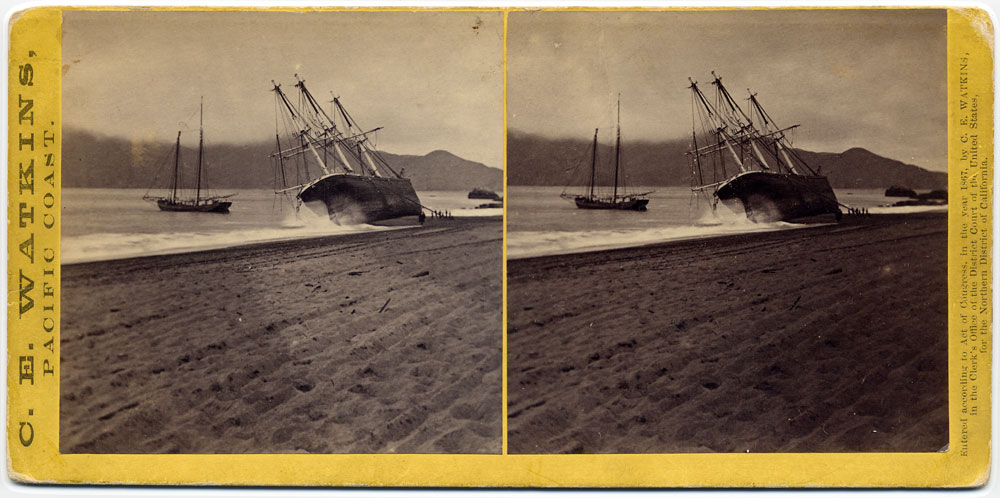 Watkins #951 - The Wreck of the Viscata, San Francisco