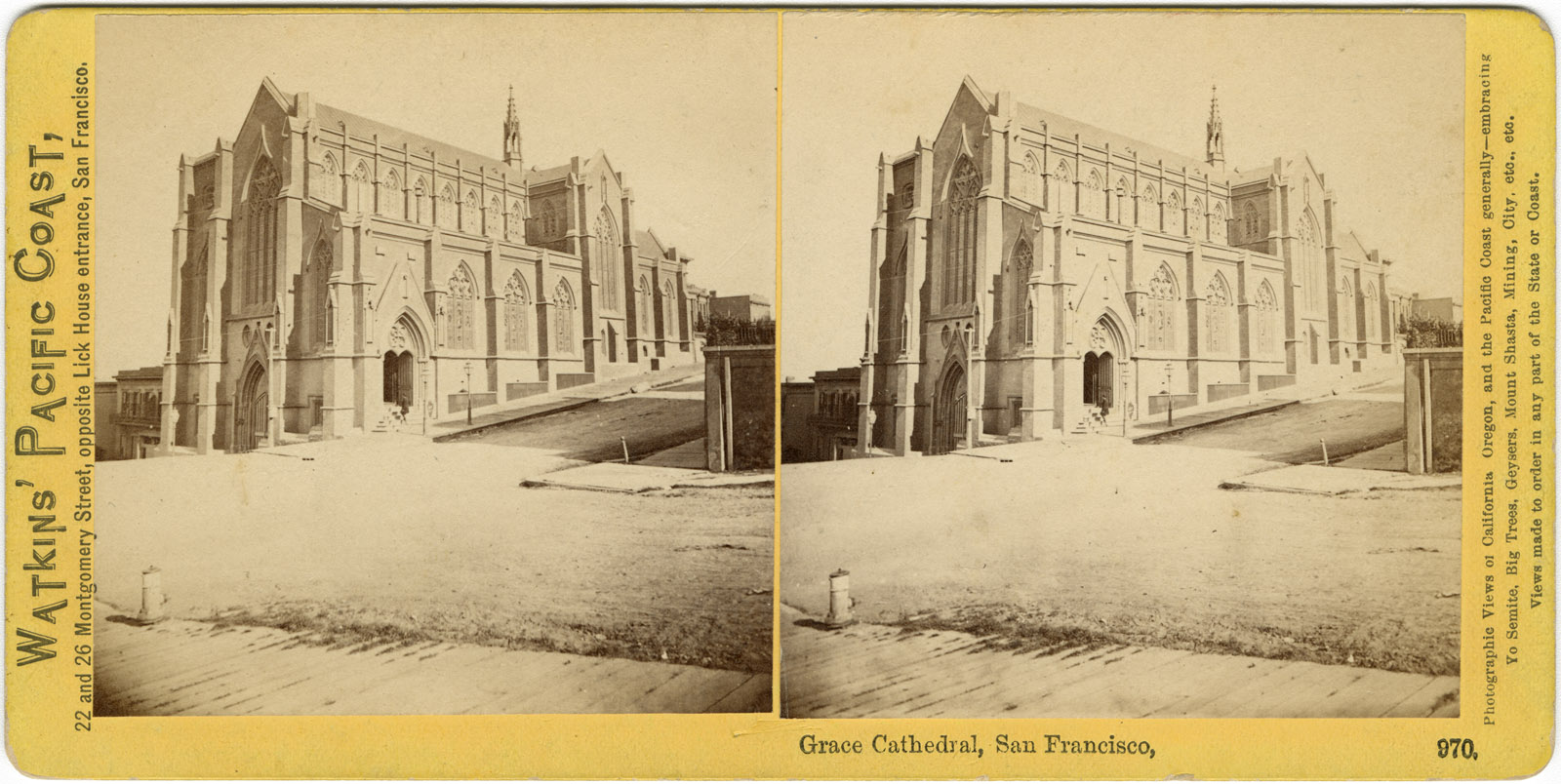 Watkins #970 - Grace Cathedral, San Francisco