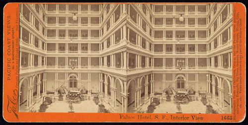 #1663 - Palace Hotel, S.F., Interior View