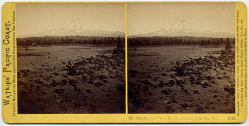 #1543 - Mt. Shasta, view from the North, Siskiyou Co., Cal.