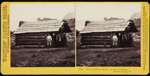 #1560 - Hotel at Sheep Rocks, at foot of Shasta, Siskiyou County, Cal.