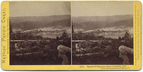 #1817 - Malakoff Diggings from Columbia Hill, North Bloomfield Gravel Mining
