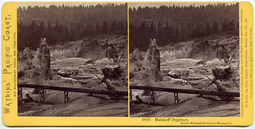 #1818 - Malakoff Diggings, North Bloomfield Gravel Mining Co., Nevada Co.