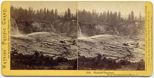 #1819 - Malakoff Diggings, North Bloomfield Gravel Mining Co.
