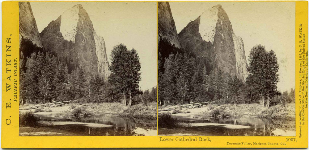 Watkins #1007 - Lower Cathedral Rock
