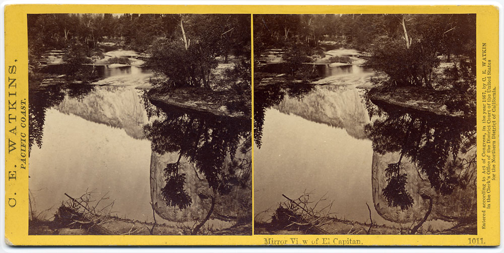 Watkins #1011 - Mirror View of El Capitan