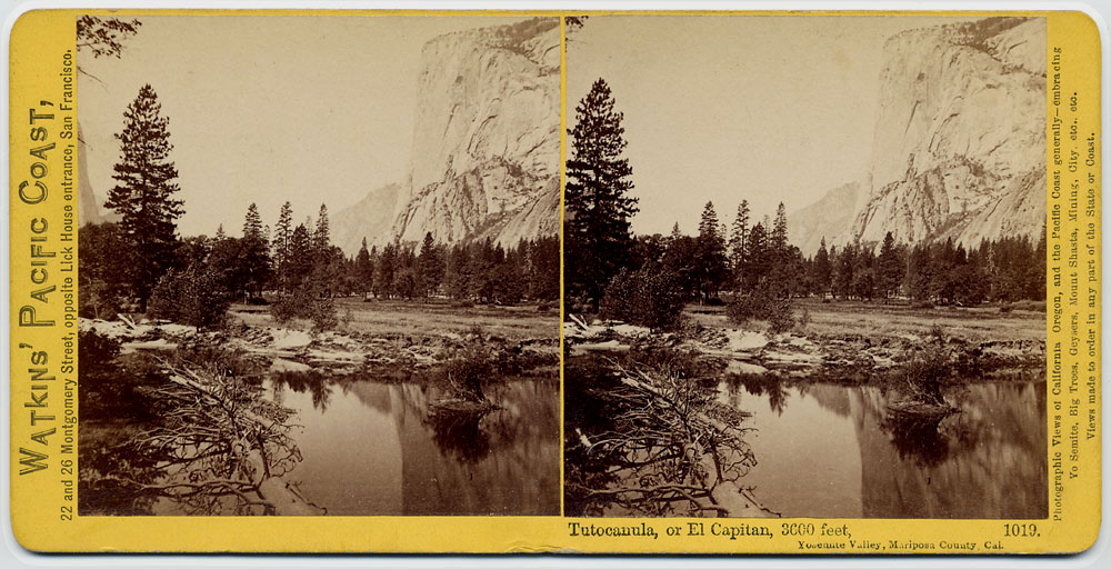 Watkins #1019 - Tutocanula, or El Capitan, 3600 feet
