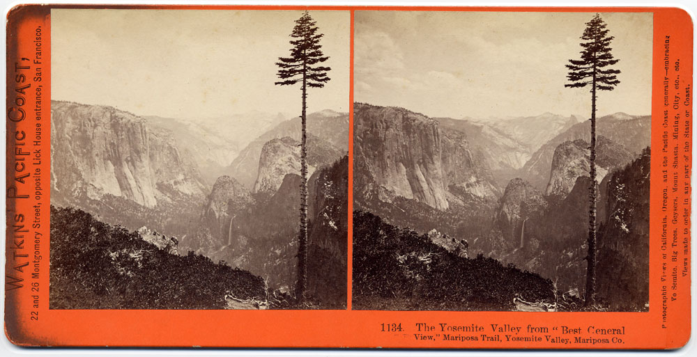 Watkins #1134 - The Yosemite Valley from