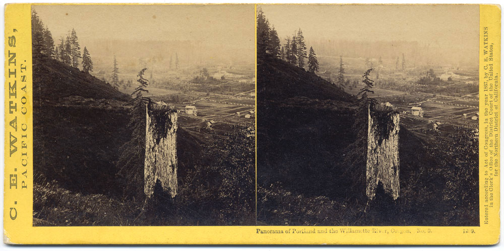 Watkins #1209 - Panorama of Portland and the Willamette River, Oregon #9