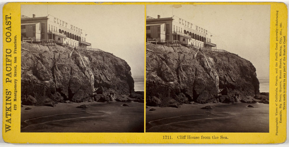 Watkins #1711 - Cliff House from the sea