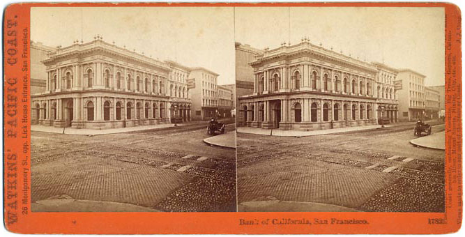 Watkins #1782 - Bank of California, S.F.