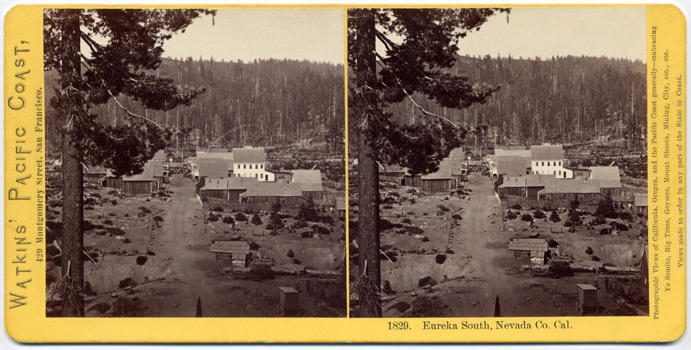 Watkins #1829 - Eureka South, Nevada Co., Cal.