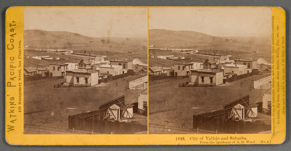 Watkins #1846 - City of Vallejo and Suburbs. From the residence of A.D. Wood. (No. 8)