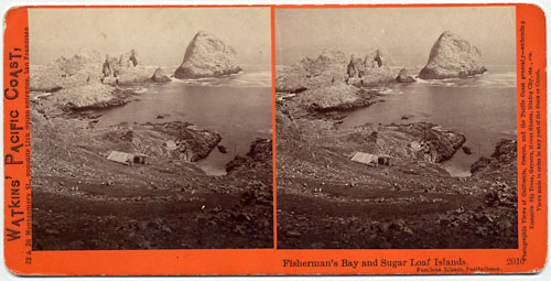#2010 - Fisherman's Bay and Sugar Loaf Islands, Farallone Islands, Pacific Ocean