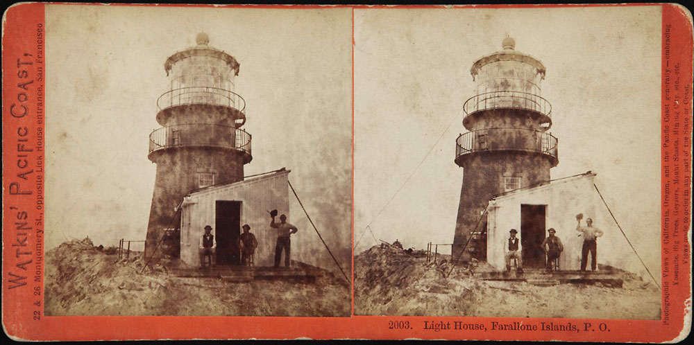 Watkins #2003 - Light House, Farallone Islands, P.O.