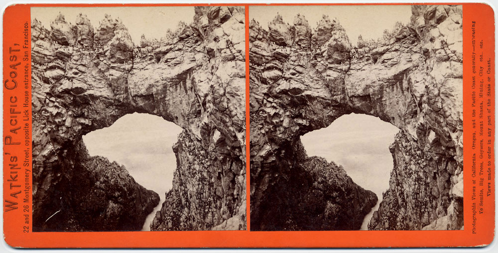 Watkins #2023 - Arch at the West End, Farallone Islands, Pacific Ocean
