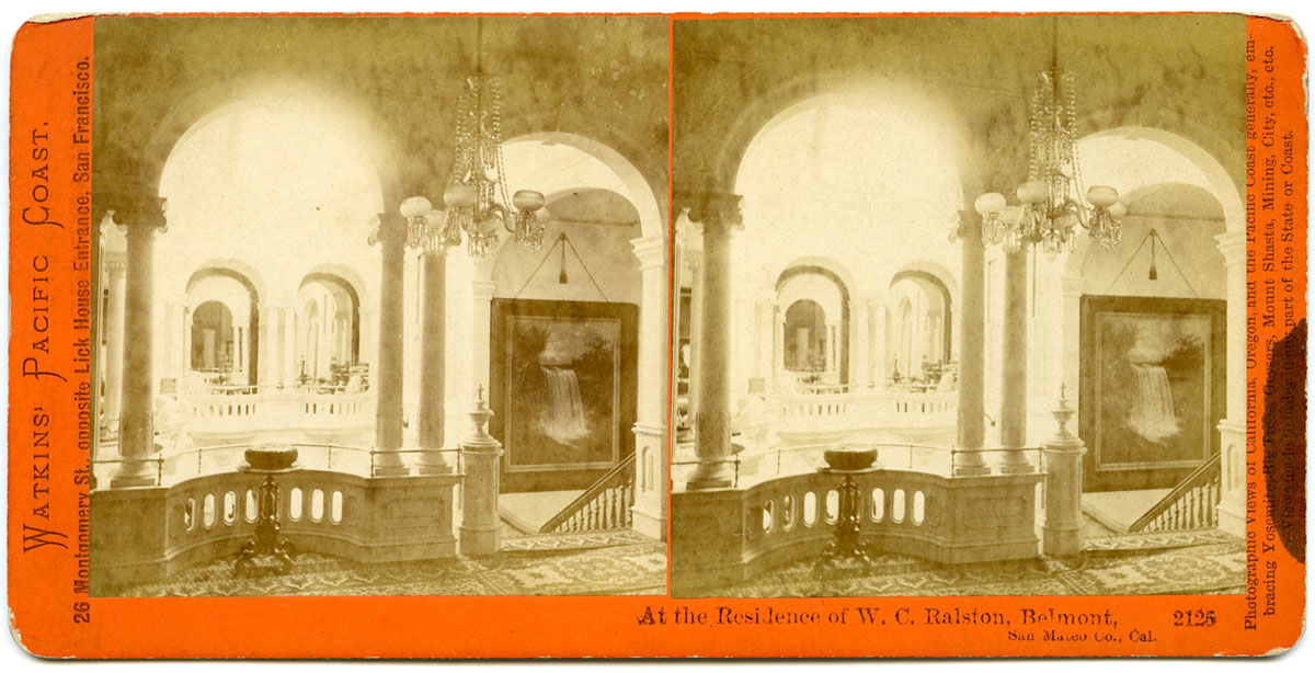 Watkins #2125 - At the Residence of W.C. Ralston, Belmont., San Mateo Co., Cal.