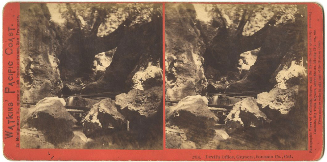 Watkins #2314 - The Devil's Office, Geysers, Sonoma County, Cal.
