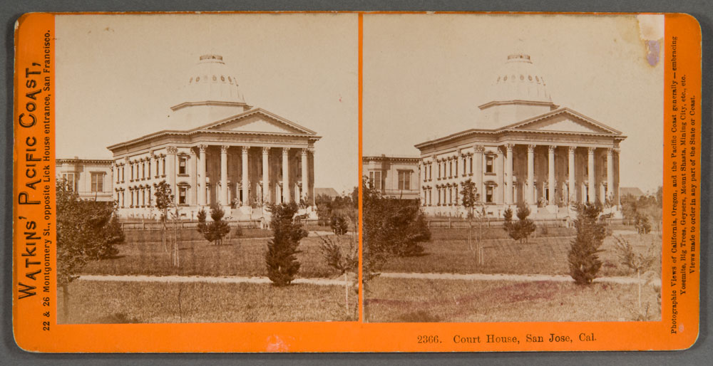 Watkins #2366 - Court House, San Jose, Cal.