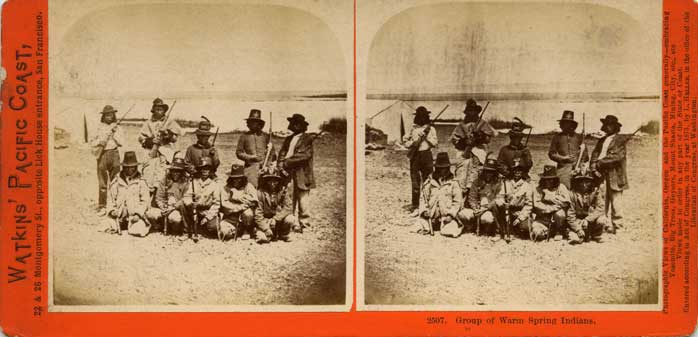 Watkins #2507 - Group of Warm Spring Indians