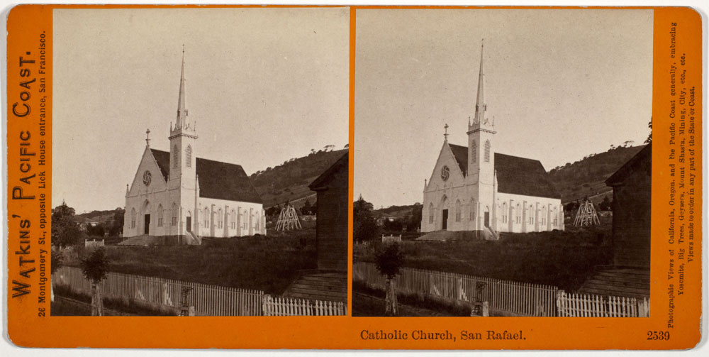 Watkins #2539 - Catholic Church, San Rafael