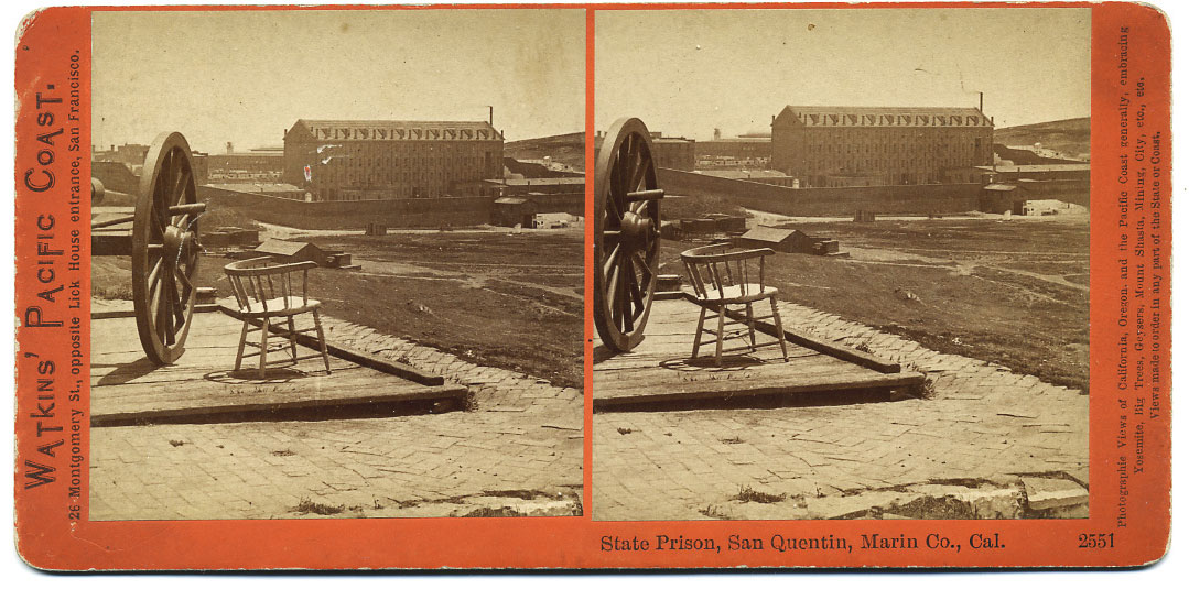 Watkins #2551 - State Prison, San Quentin, Marin Co., Cal.